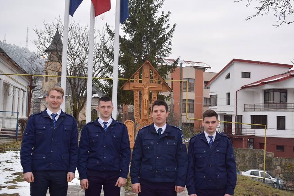 Jandarmeria Neamţ are în practică patru studenţi de la Academia de Poliţie