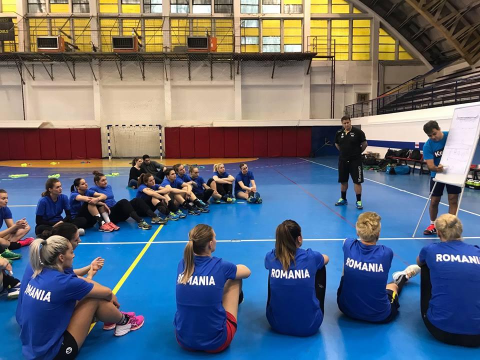Jucătoare a CSM Roman, selecționată de antrenorul Ambros Martín pentru un stagiu de pregătire cu lotul B al României