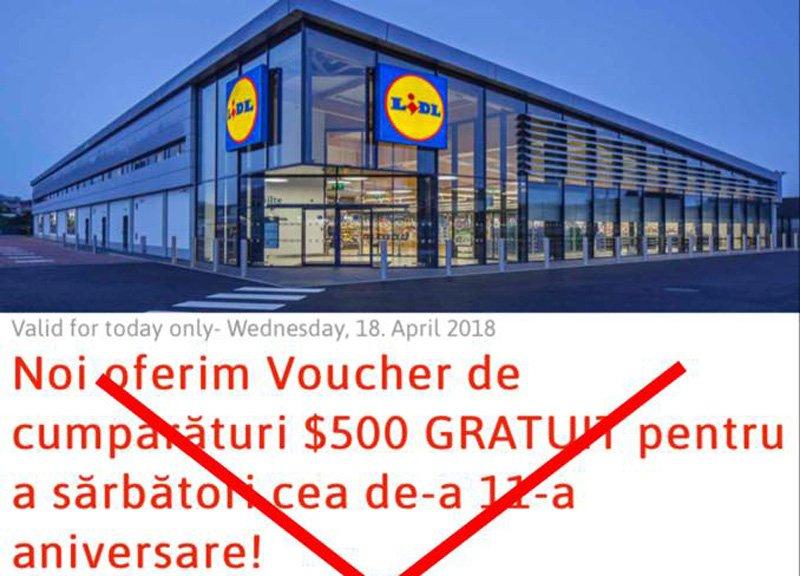 Clienţii Lidl şi Carrefour, vizaţi de o înşelătorie prin intermediul WhatsApp