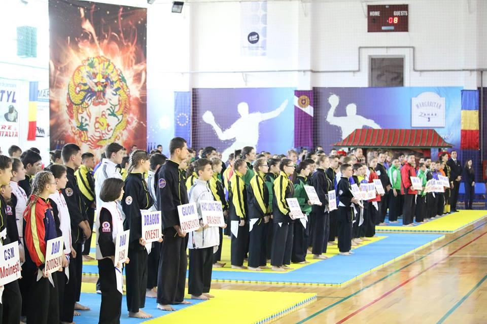 Campionatul Național de Qwan Ki Do, în luna mai, la Roman