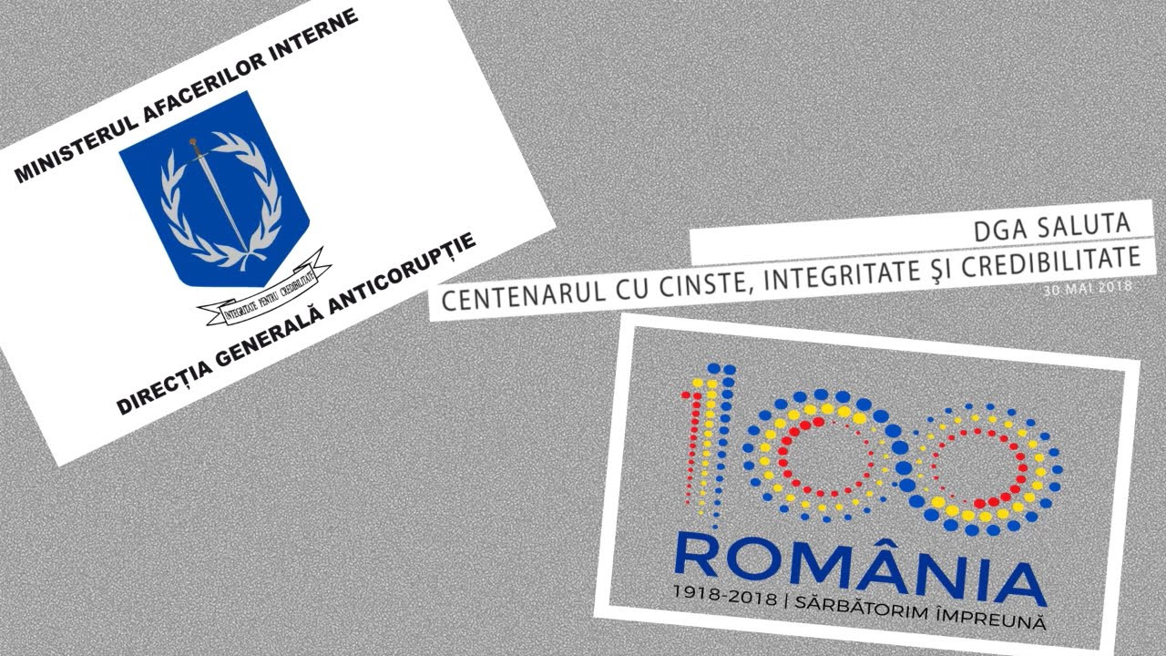 13 ani de la înființarea Direcției Generale Anticorupție