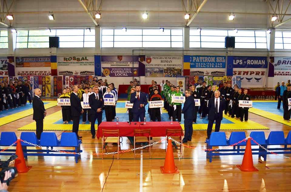 Medalii pentru sportivii Clubului Bao Roman, la Campionatul Național de Qwan Ki Do