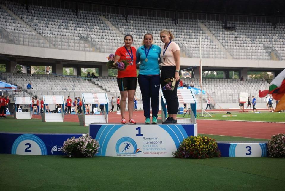 Atleta romașcană Bianca Ghelber, medalie de argint la Campionatele Internaționale de Atletism ale României