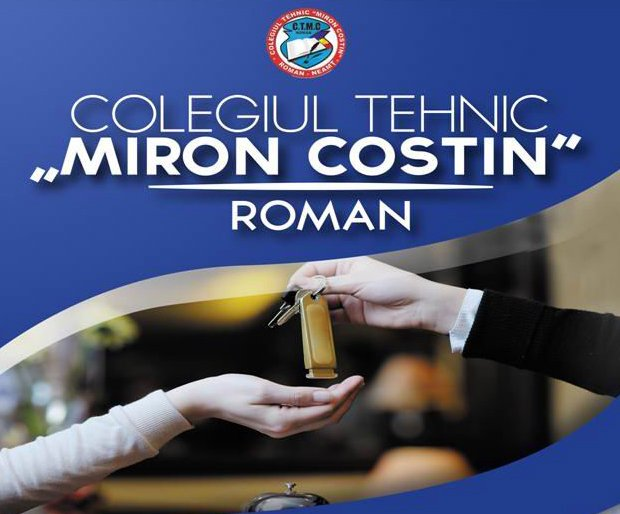 """Oferta educațională a Colegiului Tehnic """"Miron Costin"""" Roman pentru anul şcolar 2018-2019"""