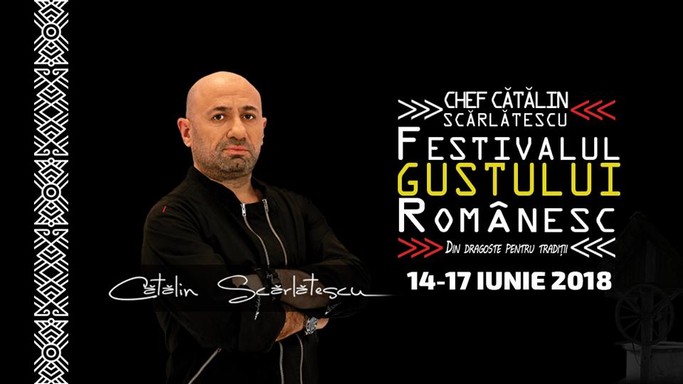 Festivalul Gustului Românesc by Chef Cătălin Scărlătescu ajunge la Shopping City Piatra Neamț