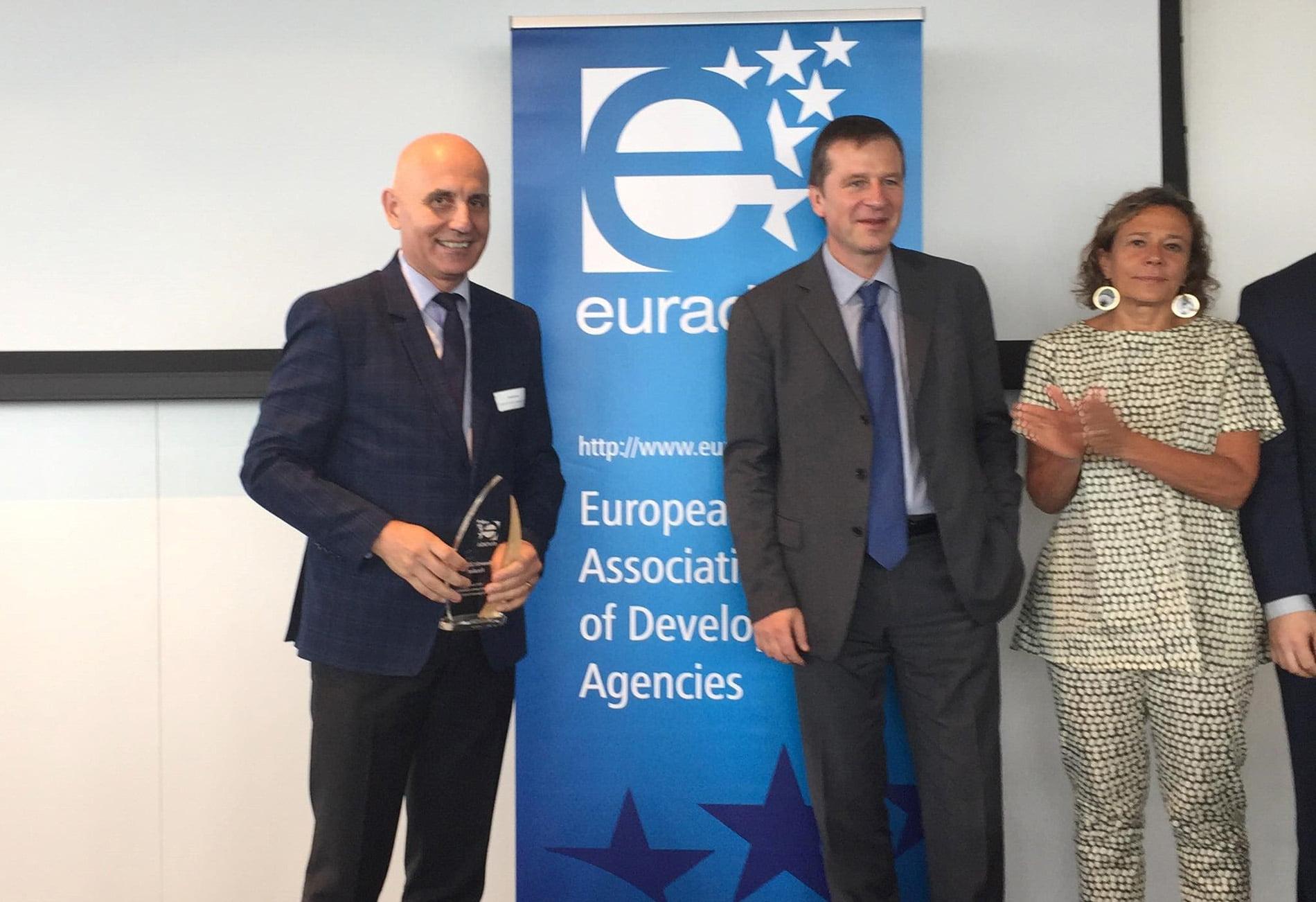 ADR Nord-Est, premiată pentru Rubik Hub la EURADA Awards 2018