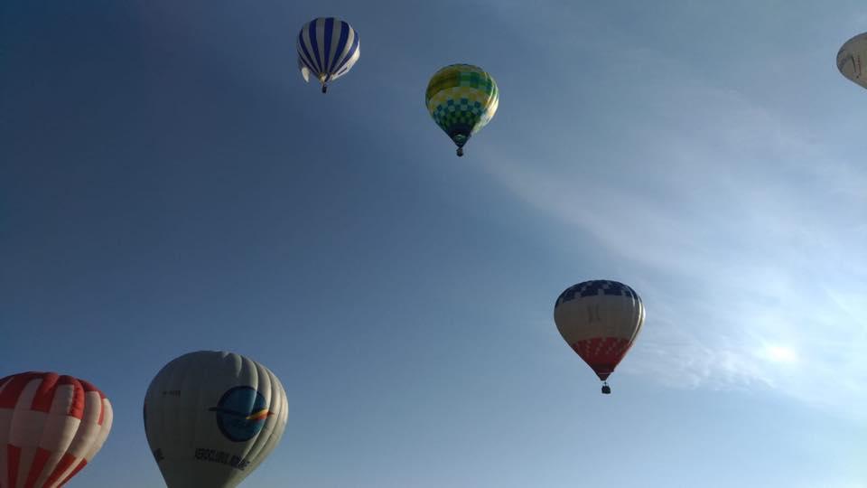 Festival al baloanelor cu aer cald în județul Neamț