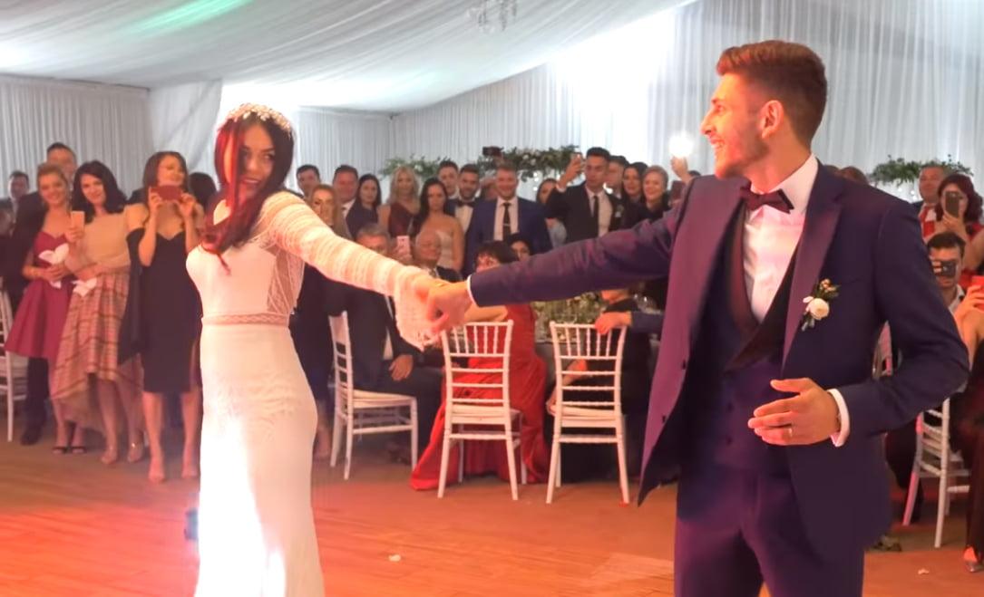 [VIDEO] Dansul mirilor, Ramona și Mircea Leoreanu