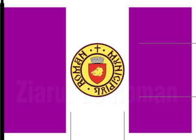 Noua variantă a steagului Romanului