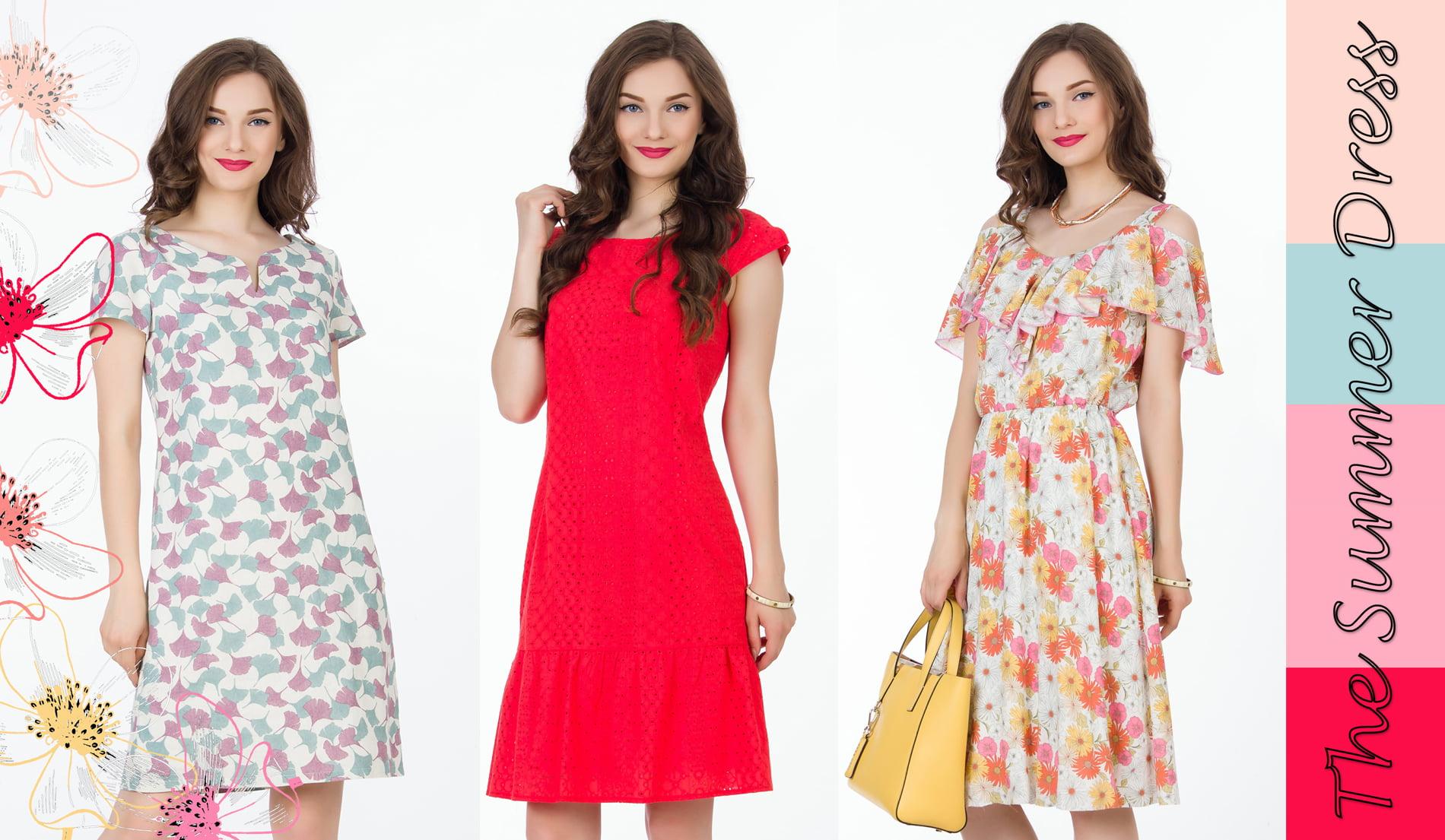 Ce rochii se poartă vara aceasta? Iată propunerile brandului Sense