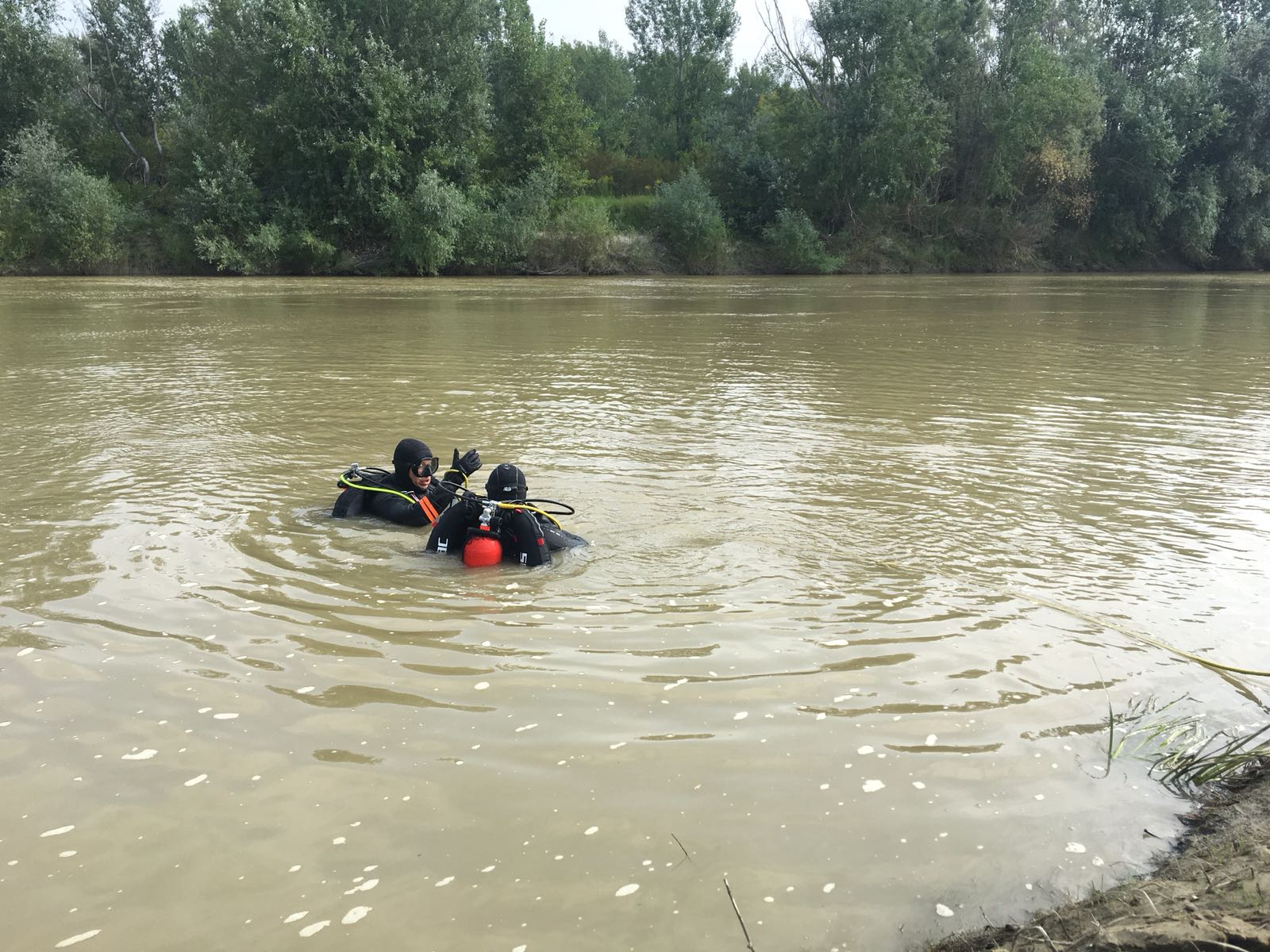 Trupul copilului înecat în Siret, găsit în această dimineață