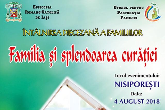 Întâlnirea Diecezană a Familiilor, duminică, la Nisiporeşti