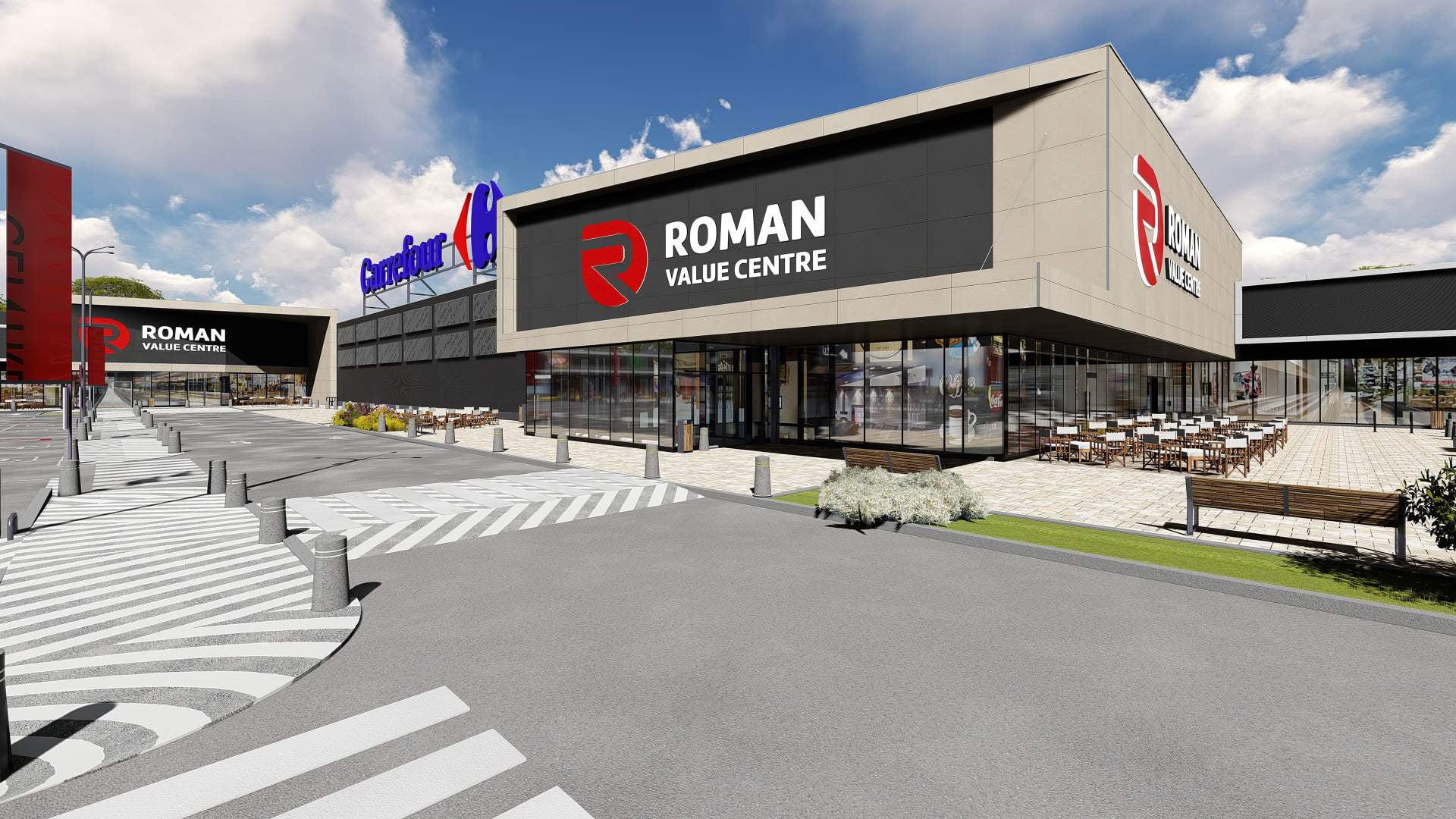 "[FOTO] Centrul comercial ""Roman Value Centre"" se deschide în luna noiembrie"