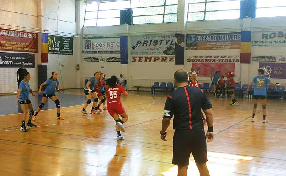 Echipa de handbal CSM Roman și-a prezentat lotul pentru noul sezon