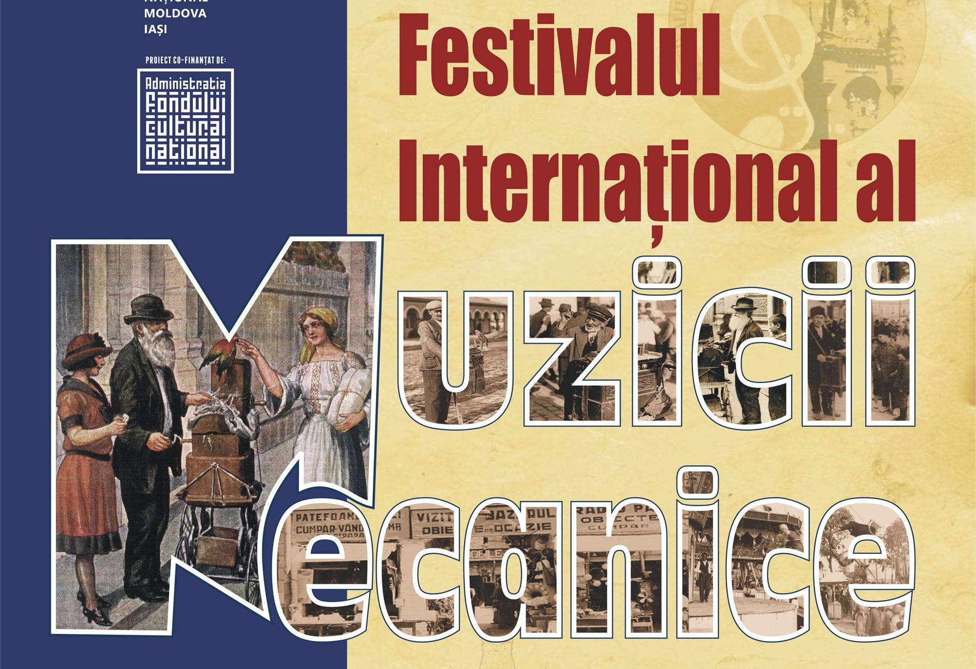 Festivalul Internaţional al Muzicii Mecanice, la Castelul Miclăușeni