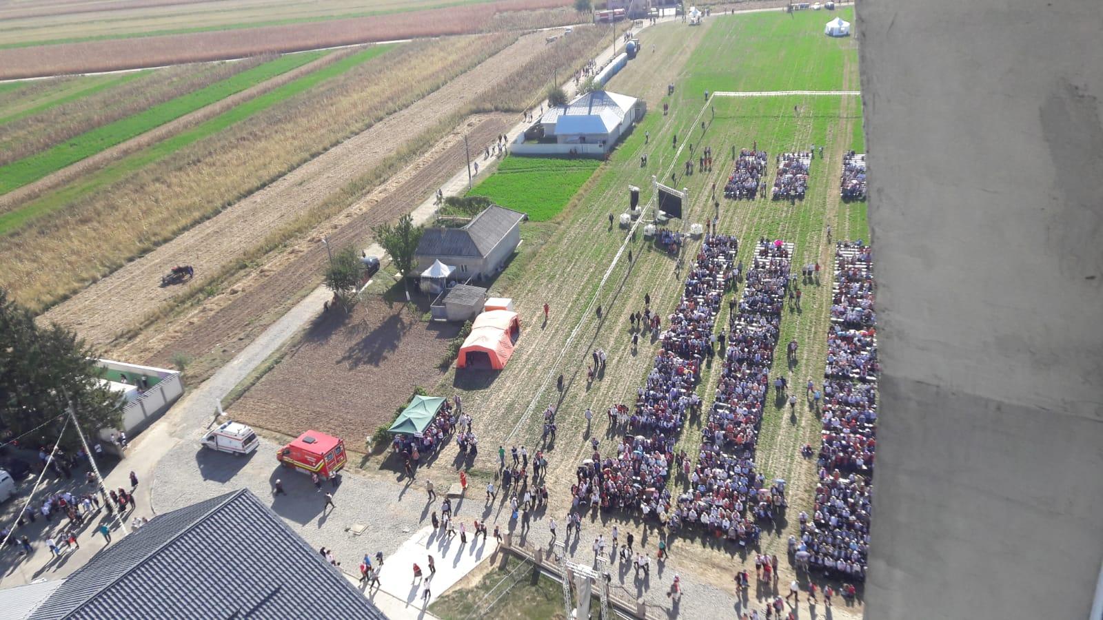 37 de persoane au avut nevoie de asistență medicală, la ceremonia religioasă de la Nisiporești