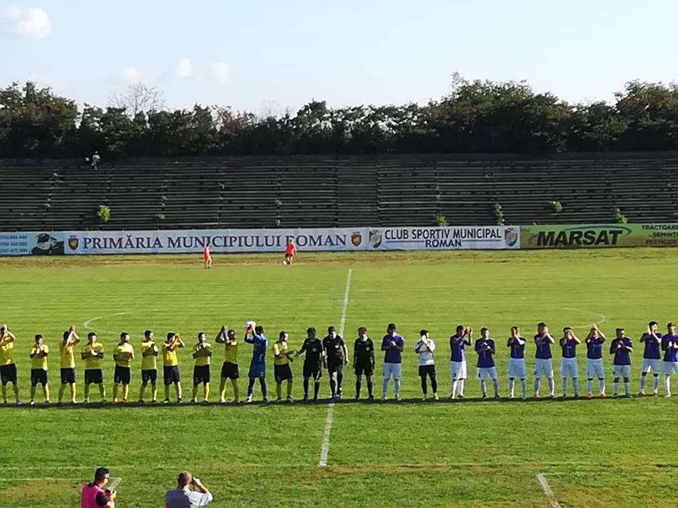 Înfrângere pe teren propriu pentru fotbaliștii CSM Roman