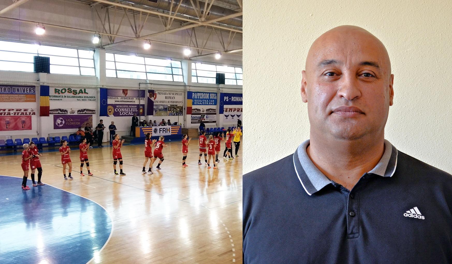 Echipa de handbal CSM Roman are un nou antrenor