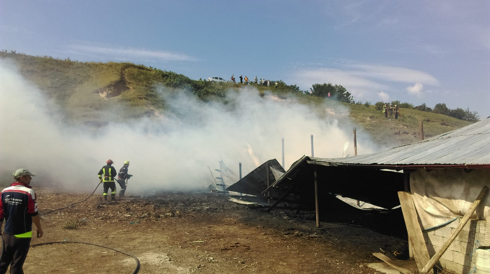 Intervenție a pompierilor romașcani, la Tupilați