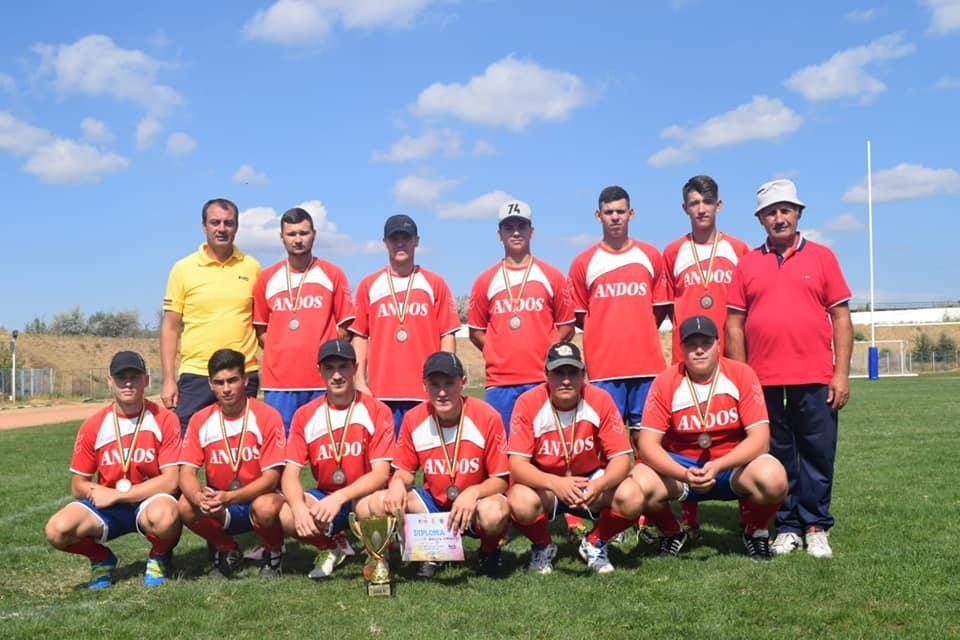 Biruința Gherăești, pe locul al treilea la finalul Campionatului național de oină