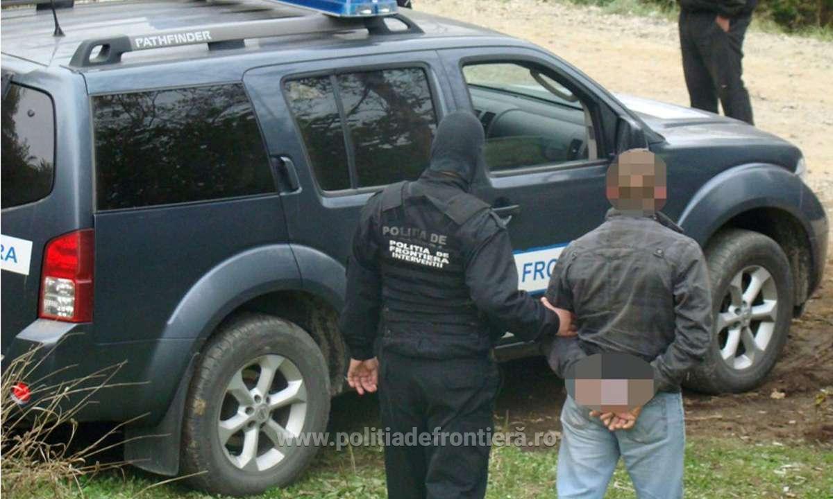 Nemțean dintr-un grup infracțional organizat, prins la graniță