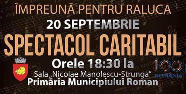Spectacol caritabil în sprijinul unei romașcane bolnave de cancer