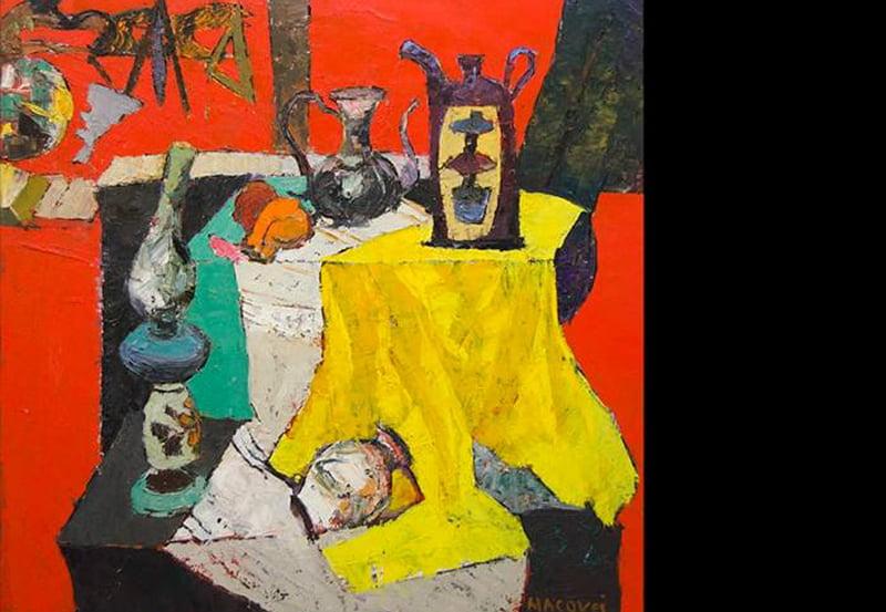 Vernisajul expoziției pictorului băcăuan Dumitru Macovei, joi, la Roman Art Gallery