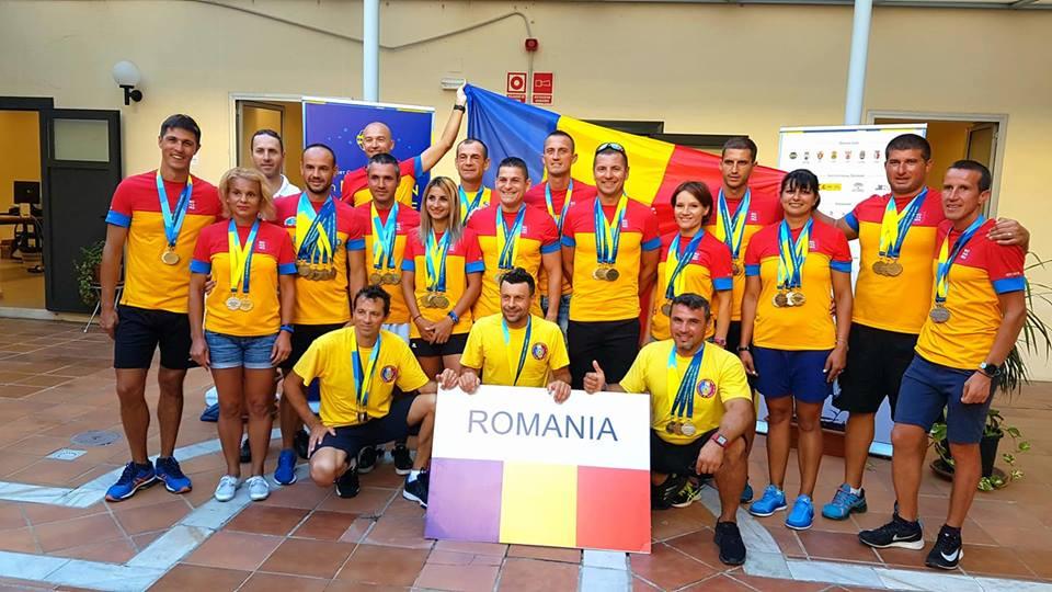 Încă un pompier romașcan medaliat cu aur la Campionatul European al Polițiștilor și Pompierilor