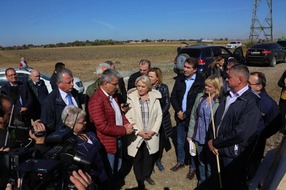 [VIDEO] Prim-ministrul Viorica Dăncilă a inspectat mai multe lucrări din județul Neamț