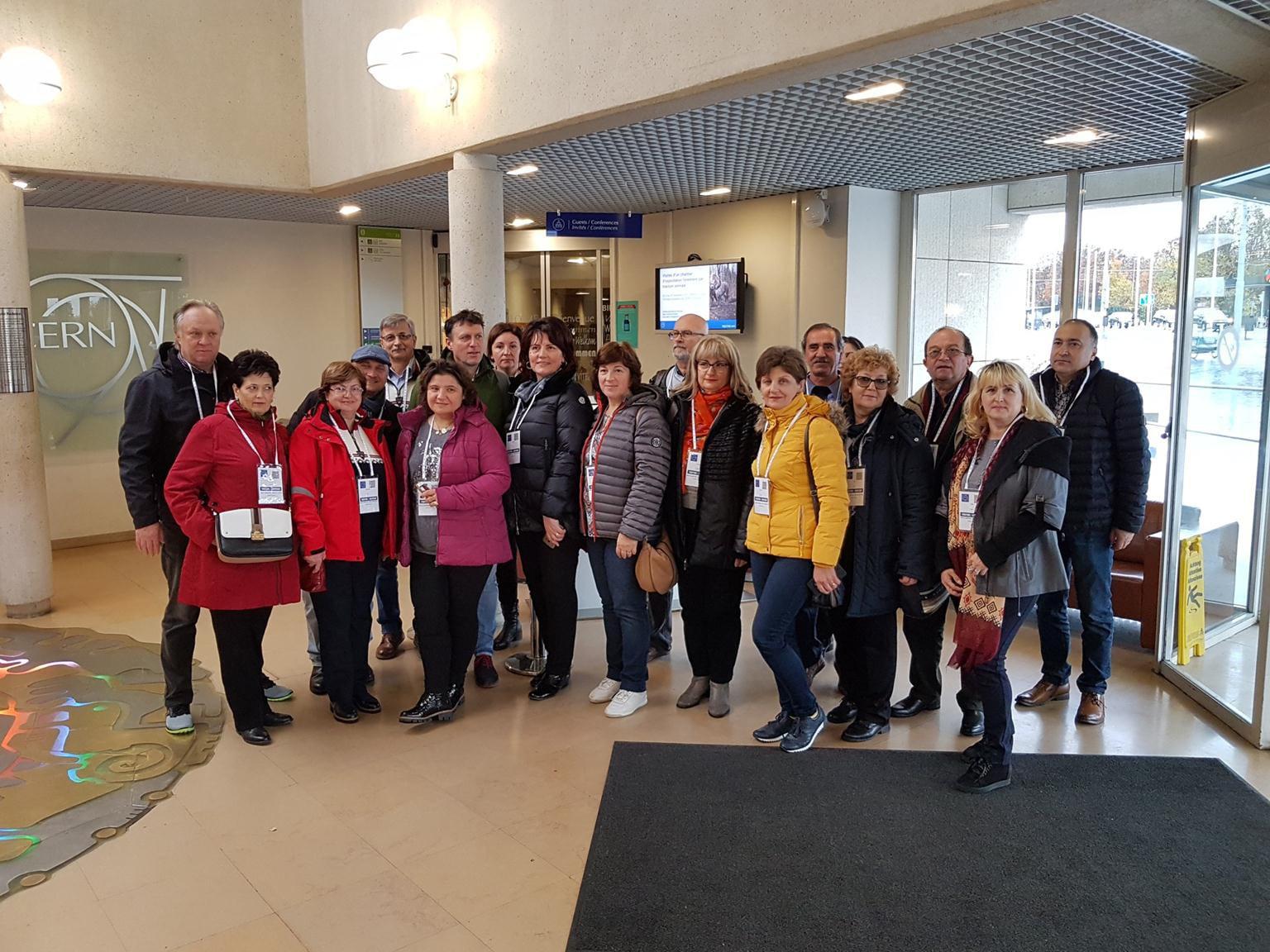 Profesori nemțeni în vizită la Organizația Europeană pentru Cercetare Nucleară