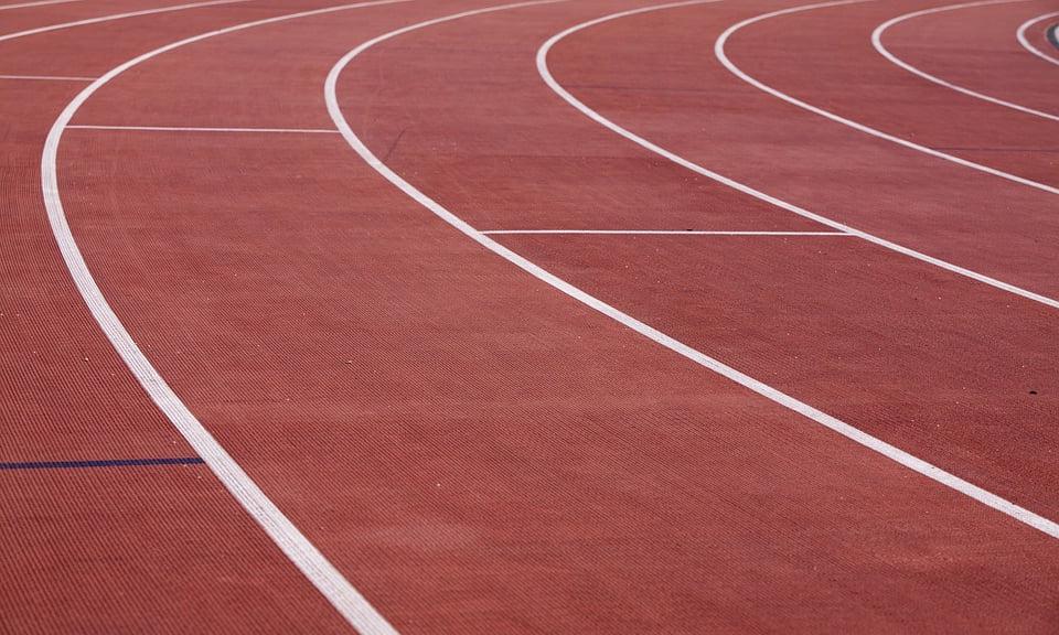 """Pistă de alergare pe Stadionul """"Moldova"""""""