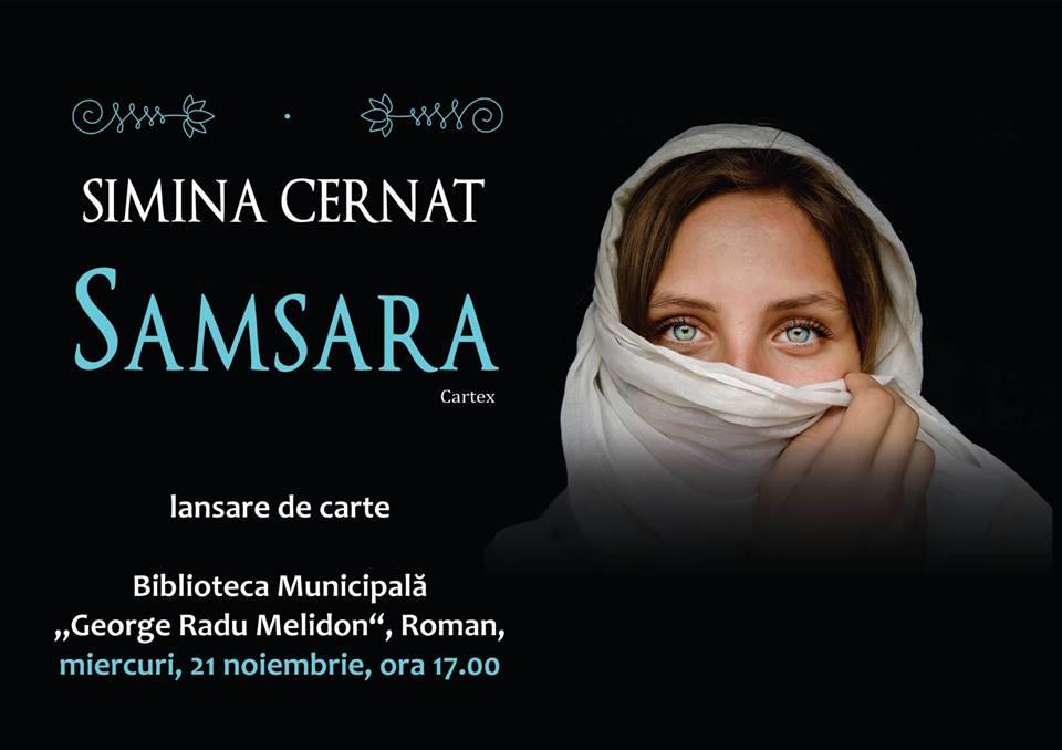 """""""Samsara"""", de Simina Cernat, lansare de carte la Biblioteca Municipală"""