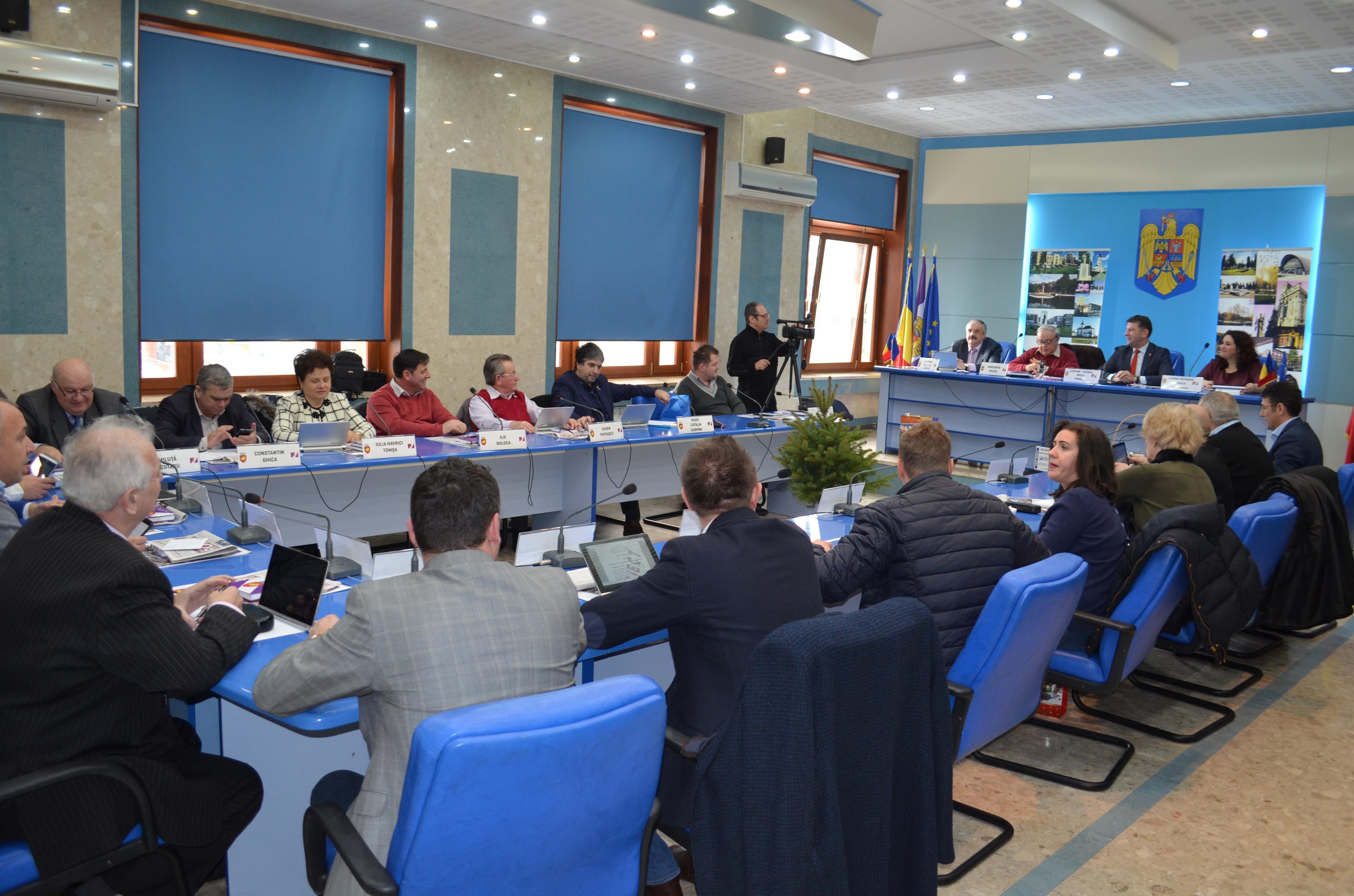 Consilierii PSD fac opoziție, nu au participat la votul pentru patru proiecte