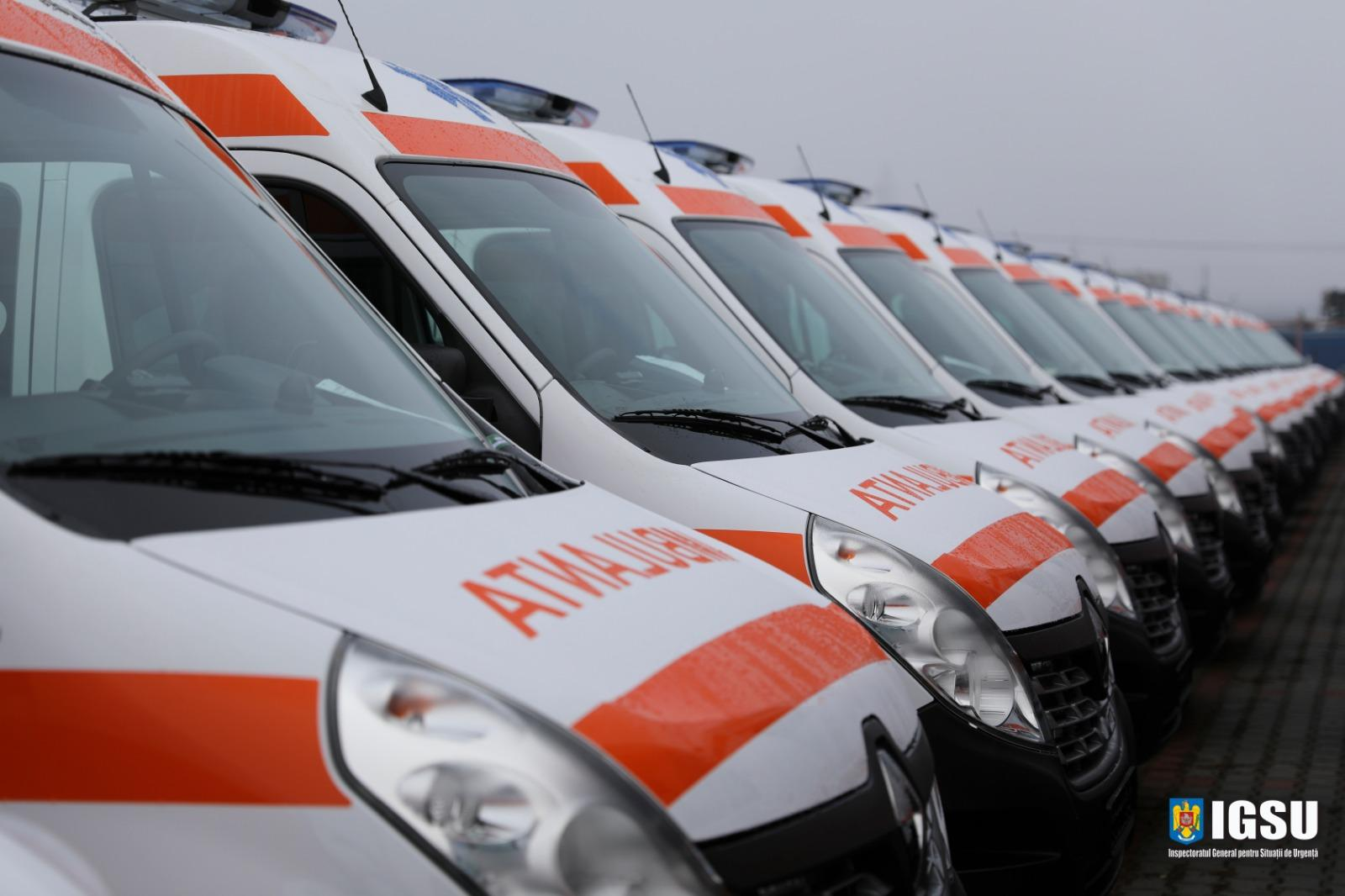 56 de noi autospeciale pentru serviciile de Ambulanță din Regiunea Nord-Est