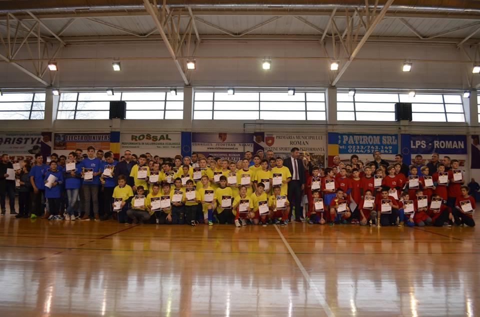 """Câștigătorii Turneului de fotbal juniori """"Cupa Centenar"""""""