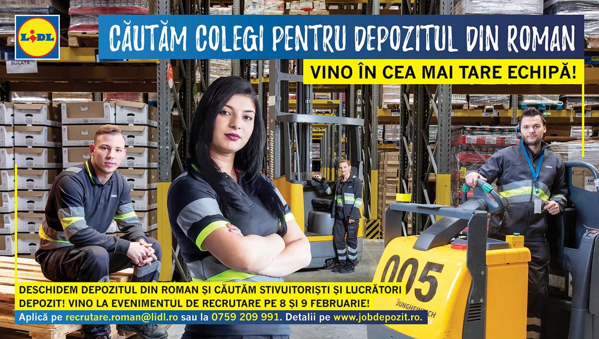 Lidl caută încă 140 de lucrători pentru noul depozit de la Cordun. Ce salarii se oferă