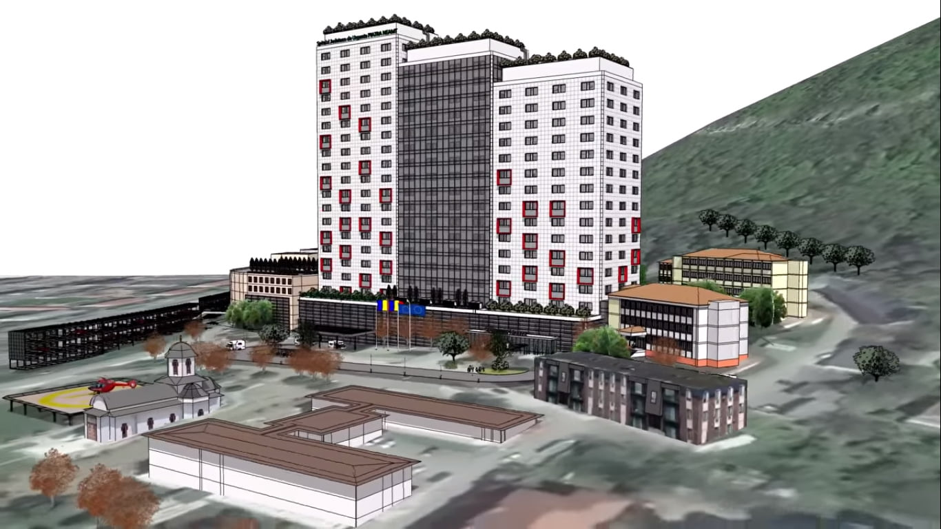 [VIDEO] Proiect pentru construirea unui nou spital județean