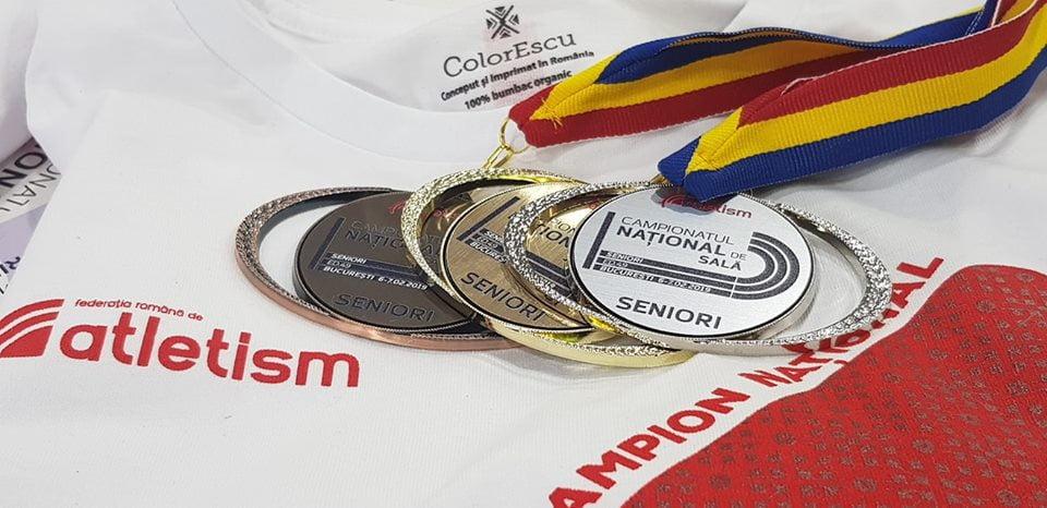 Atleții de la cluburile din Neamț, prezenți la Campionatele Naționale în sală pentru seniori și tineret