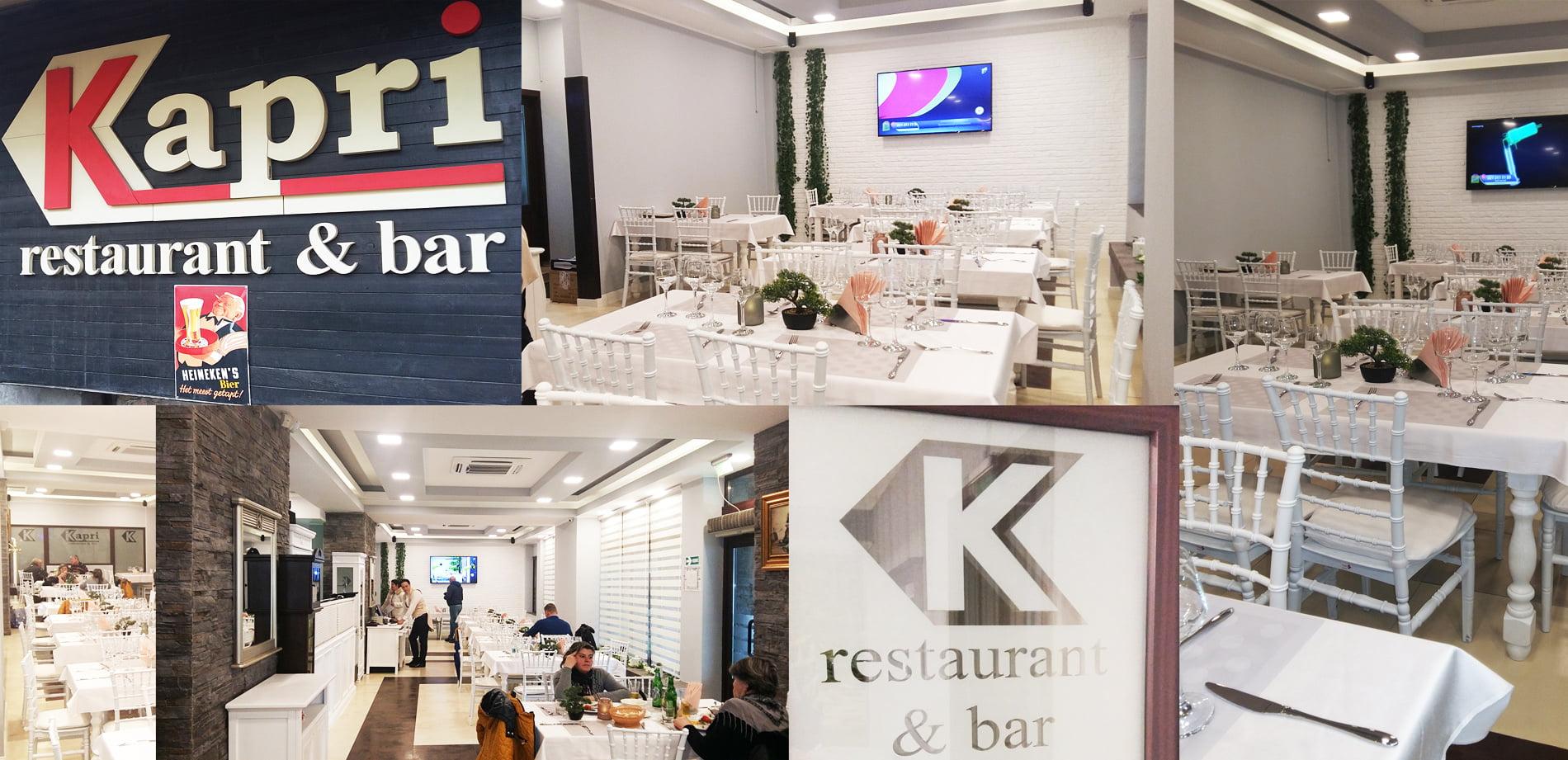 Restaurantul Kapri se redeschide într-o nouă înfățișare, din 14 februarie