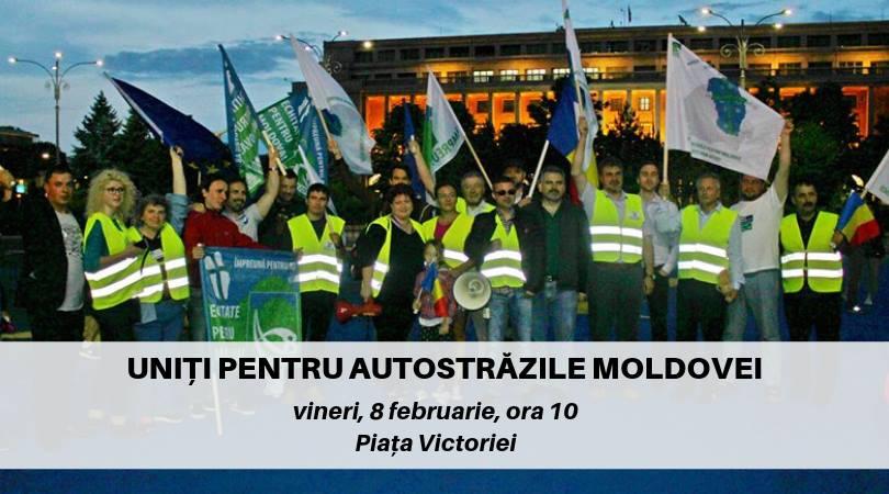 """Mișcarea pentru Dezvoltarea Moldovei: """"Piedici în calea aplicării legii pentru construirea autostrăzii A8"""""""