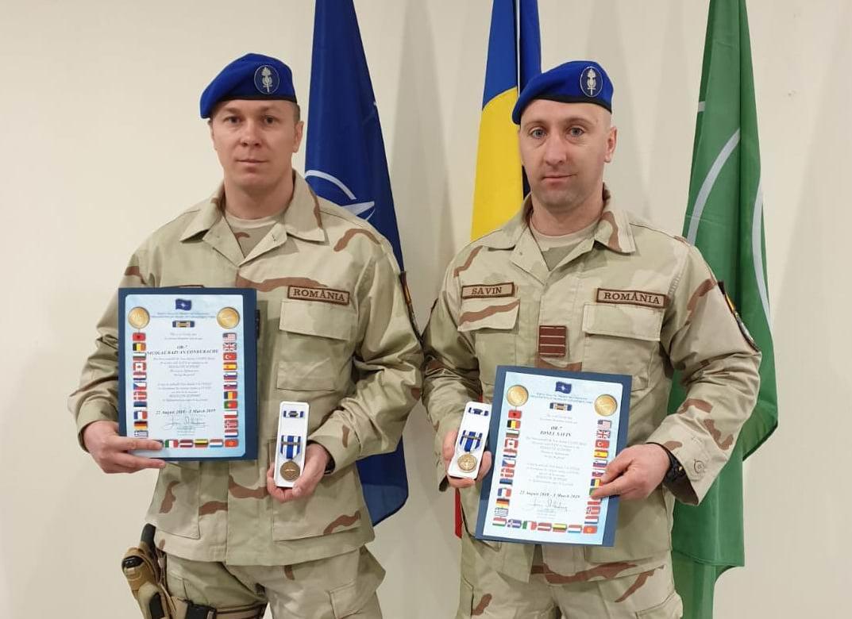Jandarmi nemțeni decorați pentru serviciul în slujba NATO, în misiune în Afganistan