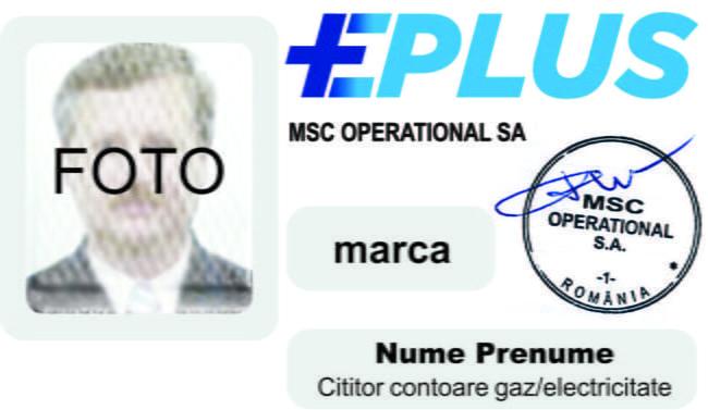 Legitimații MSC Operational