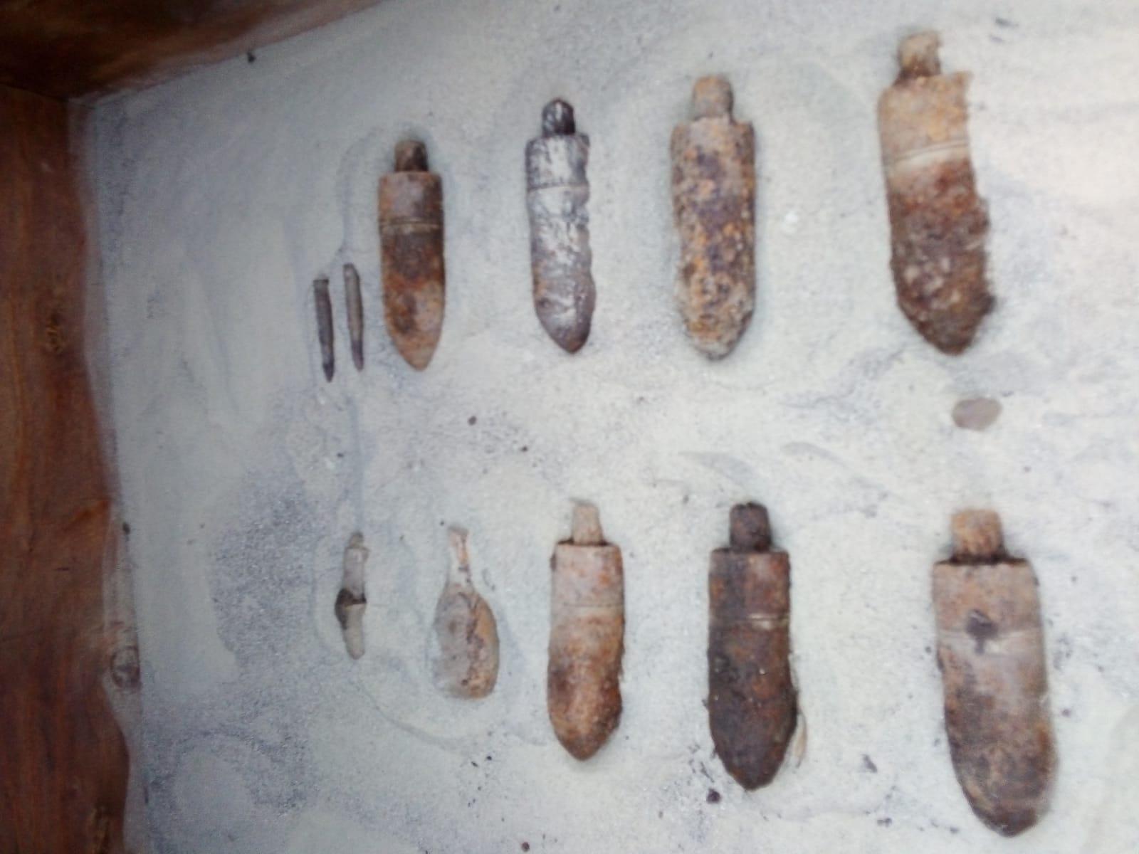 Muniție neexplodată descoperită la Ion Creangă