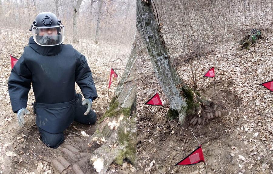 Mai multe elemente de muniție găsite de pirotehniști în comuna Ion Creangă