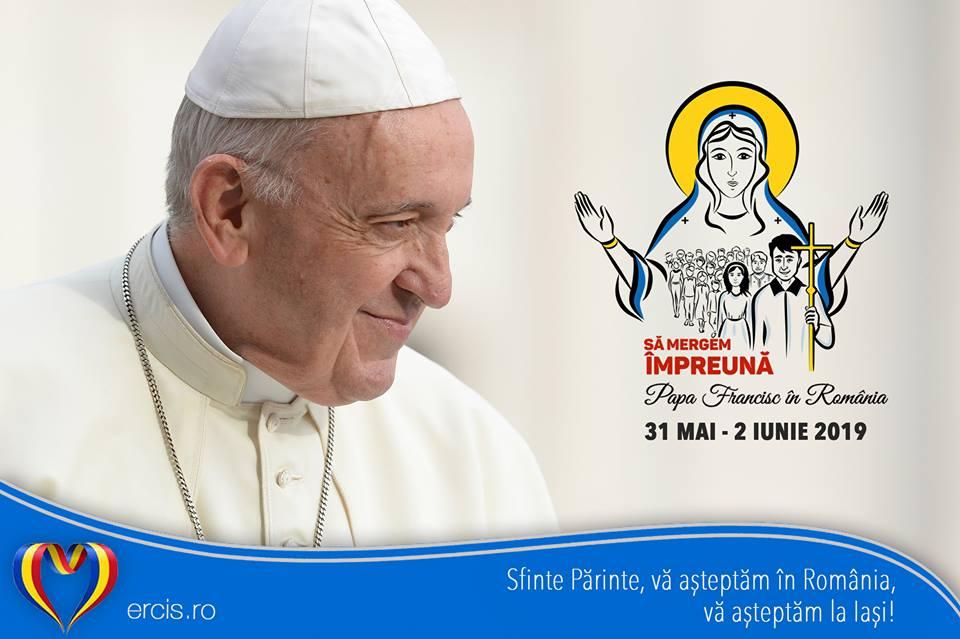 Înscrieri on-line pentru întâlnirea cu papa Francisc la Iaşi