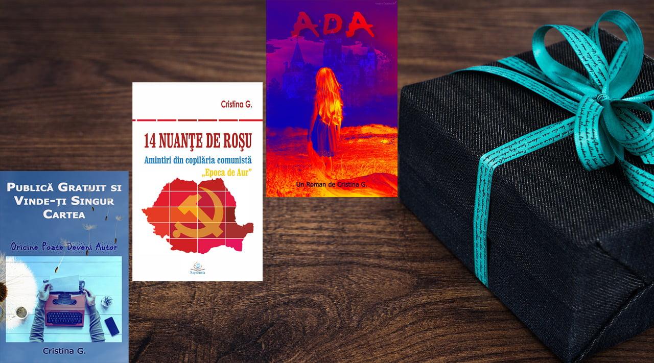 Iubiți-vă unii pe alții: Trei cărți cadou – guest post Cristina Gherghel