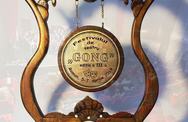 """Romanul este gazda celei de-a treia ediții a Festivalului de Teatru """"Gong"""""""