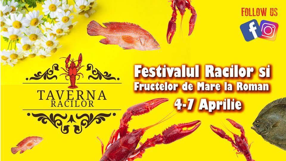 """""""Festivalul racilor și fructelor de mare"""" ajunge în Roman"""