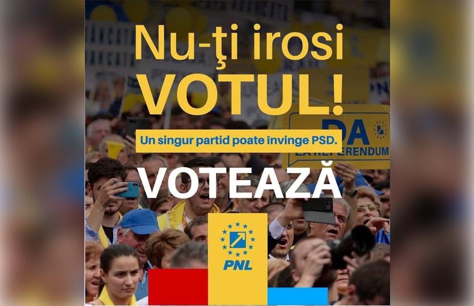 De ce merită pe 26 mai să votezi PNL, poziția 5 pe buletinul de vot!