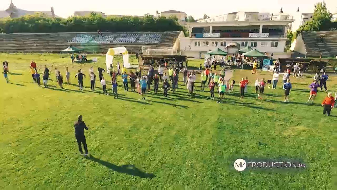 [VIDEO] Romașcanii au sărbătorit Ziua Europei la Roman Connect Cross 2019